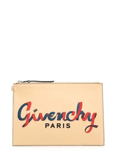 Givenchy Clutch / El Çantası Bej